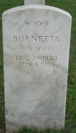 Burnetta Curry