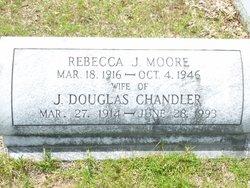 Rebecca J <I>Moore</I> Chandler