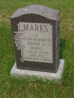 Corp Maude Alexandria Marks