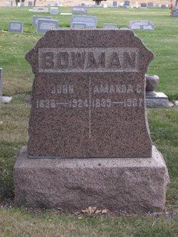 Amanda C <I>Anthony</I> Bowman