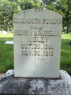 Elizabeth <I>Nibley</I> Rogers