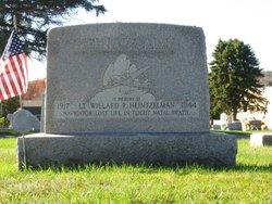 2LT Willard R Heintzelman