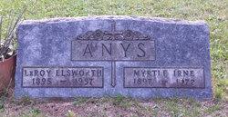 """Myrtle Irene """"Mertie"""" <I>Carter</I> Anys"""