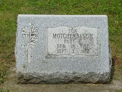 Paul F. Motchenbaugh