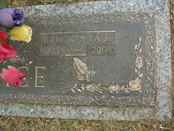 Margretta K Brice