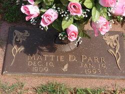 Mattie D. Parr
