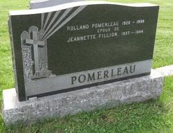 Jeannette <I>Fillion</I> Pomerleau