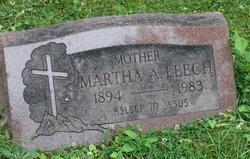 Martha A. Leech