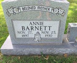 Annie <I>Jester</I> Barnett
