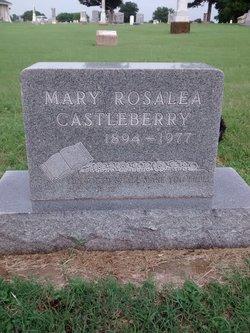 """Mary Rosalea """"May"""" <I>Hopkins</I> Castleberry"""