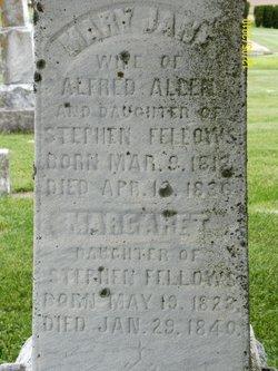 Mary Jane <I>Fellows</I> Allen