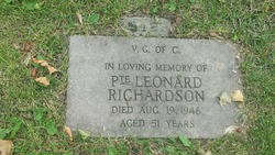 Pvt Leonard Richardson
