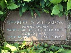 Charles O Williamson