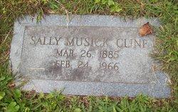 Sally <I>Musick</I> Cline