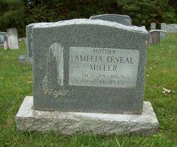 Amelia <I>O'Neal</I> Miller
