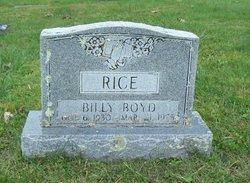 Billy Boyd Rice