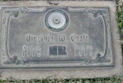 Virginia Lee <I>Williams</I> Craft