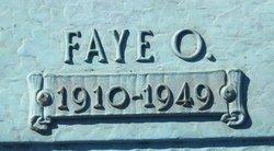Faye Ola <I>Parrish</I> Farrington