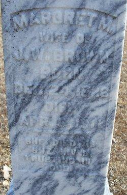 Margaret A. <I>Middleton</I> Brown