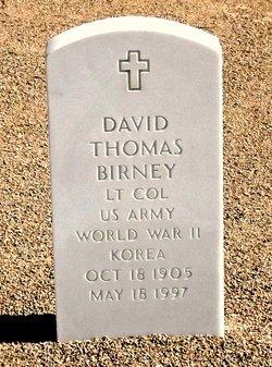 David Thomas Birney