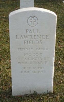 Paul Lawrence Fields