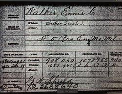 Ennis C. Walker