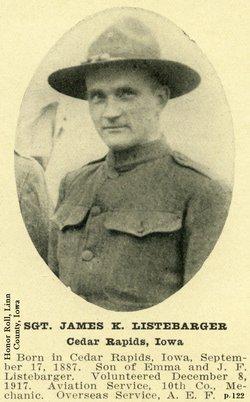 James Kenneth Listebarger