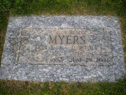 Dorothy Katherine <I>McCoy</I> Myers