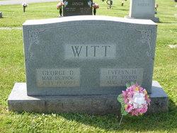 Evelyn Lee <I>Hatcher</I> Witt