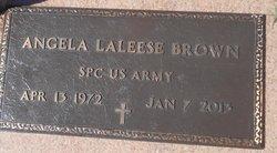 Angela Laleese <I>Jones</I> Brown