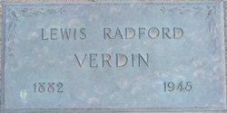 Lewis Radford Verdin
