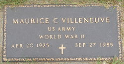 Maurice C. Villeneuve