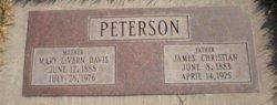 Mary Lavern Davis <I>Peterson</I> Adams