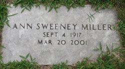 Ann <I>Sweeney</I> Miller