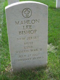 Mahlon Lee Bishop