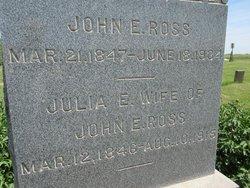 "Julia Emmeline ""Emma"" <I>Throckmorton</I> Ross"