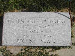 Pvt Hazen Arthur Drury