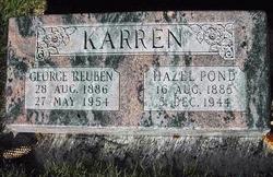 Hazel <I>Pond</I> Karren