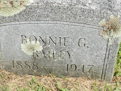 Bonnie G Bailey