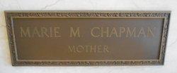 Marie M <I>Duncan</I> Chapman
