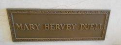 Mary Hervey <I>Frederick</I> Duell