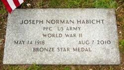 Joseph Norman Habicht