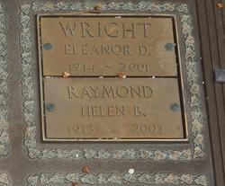 Eleanor <I>DeWitt</I> Wright