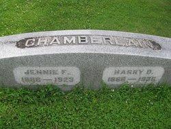 Jennie F. <I>Stroh</I> Chamberlain