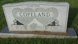 Naomi Myrtle <I>Hargett</I> Copeland
