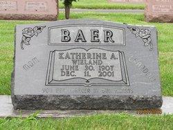 Katherine Anna <I>Wieland</I> Baer