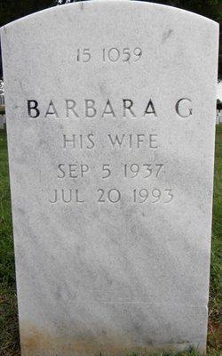Barbara Gertrude <I>Huffman</I> Garner