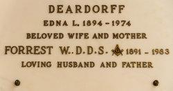Dr Forrest William Deardorff