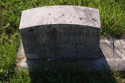 Emma R <I>Longshore</I> Bennethum