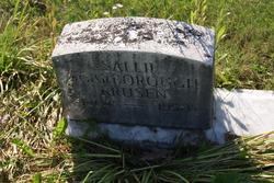 Sallie <I>Scarborough</I> Krusen
